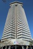 ColÃ-³ n Bürogebäude in Barcelona Stockfotografie
