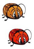 Coléoptère de dessin animé Photo stock