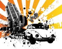 Coléoptère de VW illustration de vecteur