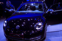 Coléoptère de VW sur 64rd IAA Images libres de droits