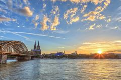 Colónia Alemanha imagem de stock royalty free