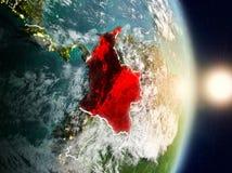 Colômbia durante o nascer do sol Foto de Stock Royalty Free