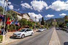 Colônia alemão, Haifa foto de stock royalty free