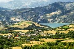 Col-Свят-Джин (Франция), ландшафт горы стоковая фотография