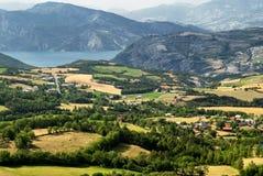 Col-Свят-Джин (Франция), ландшафт горы стоковая фотография rf