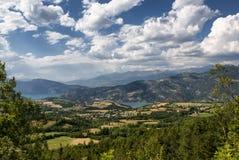Col-Свят-Джин (Франция), ландшафт горы стоковые фото