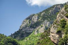 Col de Ла Couillole (француз Альпы) стоковая фотография rf
