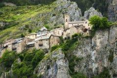 Col de Ла Couillole (француз Альпы) стоковое изображение rf