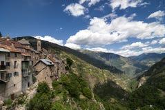 Col de Ла Couillole (француз Альпы) стоковое фото rf