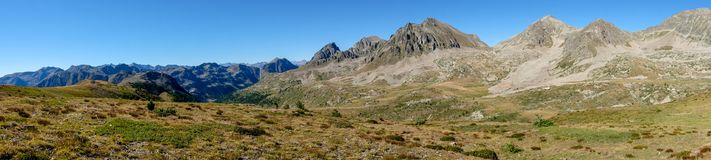 Col de Ла Lombarde Landascape Стоковое Фото