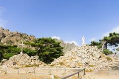Col de Bavella стоковые фотографии rf