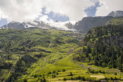 Col de l'Iseran Stock Photography