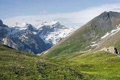Col de l'Iseran Royalty Free Stock Photo