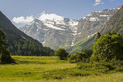 Col de l'Iseran Royalty Free Stock Photography