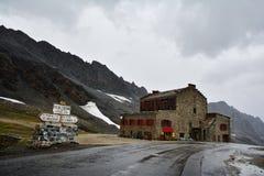 Col De L ` Iseran przełęcz w Francja obrazy royalty free