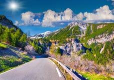 Col de la Bonette pass Royalty Free Stock Image