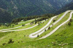 Col de Tende (Alps) Royalty Free Stock Photography