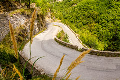 Col de Turini (Turini Pass), France Royalty Free Stock Image