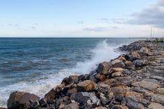 2013_Col di Nava - Ligurian coast. Italy - Mediterranean. Ligurian coast, the port Oneglia Stock Images
