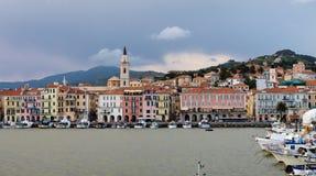 Col. di Nava - Ligurian kust Royalty-vrije Stock Afbeeldingen