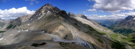Col du Galibier, France Images stock