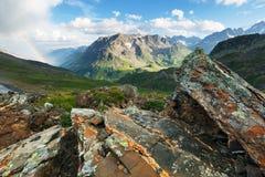 Col. du Galibier, französische Alpen Lizenzfreie Stockbilder