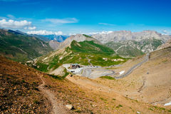 Col du Galibier Royalty Free Stock Photos