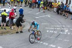 The Cyclist Vincenzo Nibali - Tour de France 2015 Royalty Free Stock Image