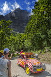Cochonou samochód Zdjęcie Royalty Free