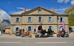 Col Du Lautaret, Francja zdjęcia stock