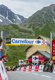 Col. du Lautaret - Ronde van Frankrijk 2014 Royalty-vrije Stock Foto's