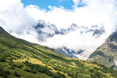 Col du Lautaret in summer (France) Royalty Free Stock Photography