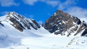 Col du Mont Olive et de vautour Photographie stock
