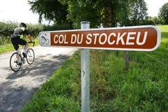 Col du Stockeu Stock Photography