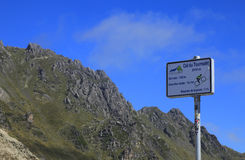 Col du Tourmalet Stock Photo
