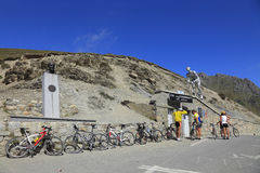 Col du Tourmalet Images stock