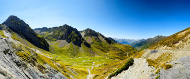 Col du Tourmalet Hautes Pyrenees, France Stock Photos