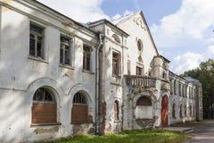 Colônia agrícola da casa da faculdade Izvara Região de Leninegrado Rússia Imagens de Stock