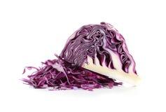 Col púrpura aislada en el fondo blanco Imagenes de archivo