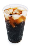 Cola. With ice on white background Stock Photo