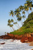 Cola beach in Goa Royalty Free Stock Photos
