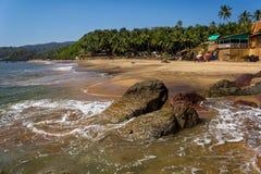 Cola Beach, South Goa, India Royalty Free Stock Photo