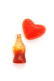 Cola bottles candy Royalty Free Stock Photo