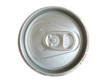 Cola can. Closed cola can Royalty Free Stock Photography