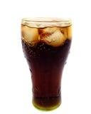 Cola com gelo Imagens de Stock Royalty Free