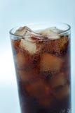 Cola com gelo Foto de Stock Royalty Free