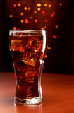 Cola com gelo Imagem de Stock Royalty Free