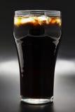 Cola com gelo Fotos de Stock