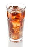 Cola com gelo Imagens de Stock
