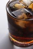 Cola con hielo Fotografía de archivo libre de regalías